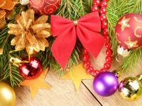 Świąteczne stroiki, bombki i inne ozdoby - Prezentacja w GOK Parchowo