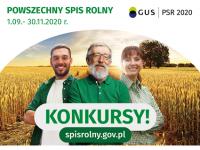Konkurs dla Najlepszej Gminy - spis rolny 2020r.