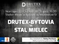 22 kolejka - Drutex Bytovia Bytów - Stal Mielec