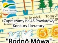 45 Powiatowy konkurs literatury -